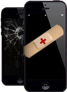 iPhone screen fixed.